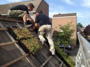 dak aanleggen